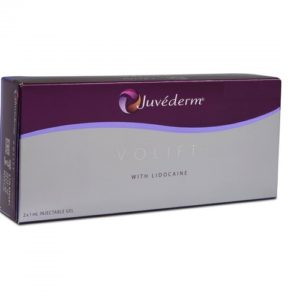 Juvederm volbella with lidocaine